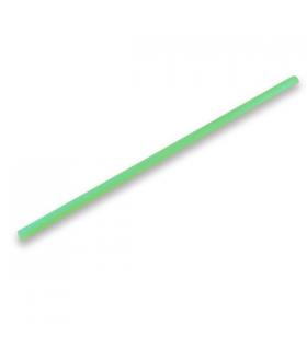 Canutillo recto de PLA verde Ø 0,6 x 23 cm